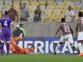 Fluminense viajará a Uruguay con una buena renta. EFE