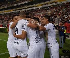 Pumas lidera la tabla. EFE/FranciscoGuasco