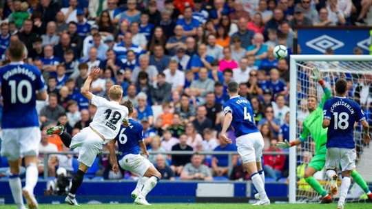 Goodison Park has been the home of Everton for over a century. EFE