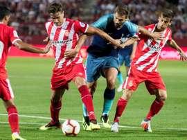Spurs were heavily beaten by Spanish side Girona. EFE