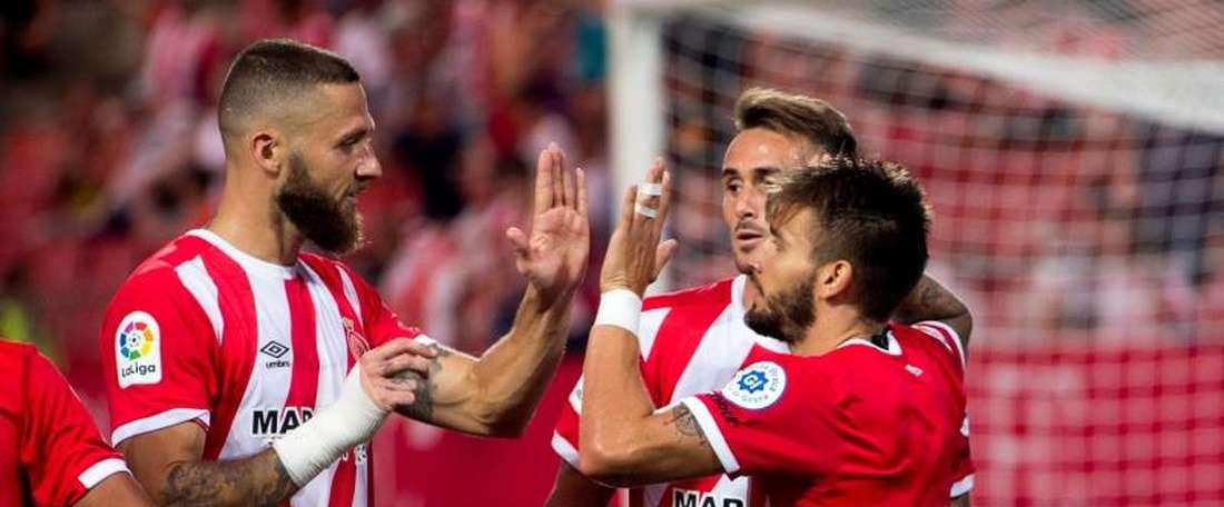 Marcello Trotta suena para jugar en el Girona. EFE