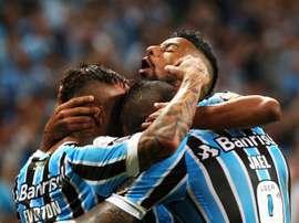 Después de la derrota en la Libertadores, Gremio buscará un nuevo triunfo. EFE