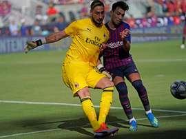 Barcelona want to keep Munir. EFE