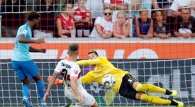 Pablo Maffeo prévoit un retour en Liga. EFE