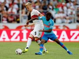 Baumgartl pourrait atterrir au PSV pour 10 millions d'euros. EFE