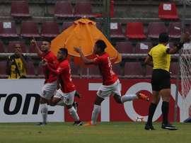 Deportivo Lara empató en casa en la ida de la final. EFE/Archivo