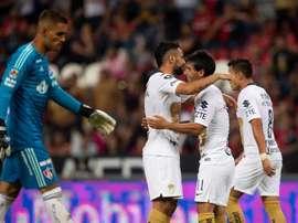 Pumas y Santos Laguna firmaron tablas. EFE