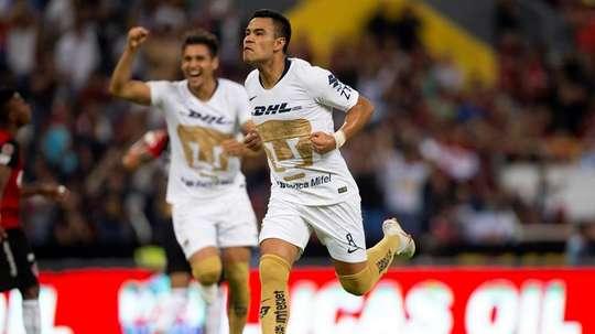 Pumas UNAM mantiene el pulso. EFE