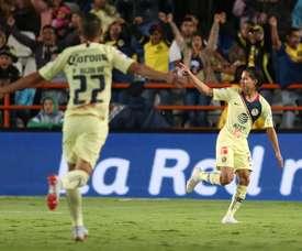 Diego Lainez intéresse plusieurs clubs européens. EFE