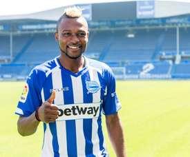 Twumasi ya es nuevo jugador del Alavés. EFE