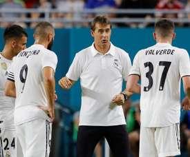 Valverde, euphorique après ses débuts. EFE