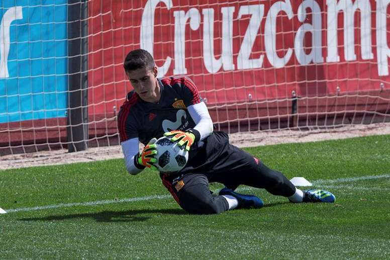 Kepa is close to joining Chelsea it is thought. EFE