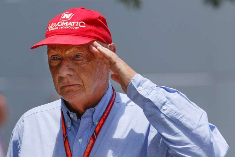 Fotografía de archivo tomada en Malasia del ex piloto austríaco Niki Lauda. EFE/Archivo