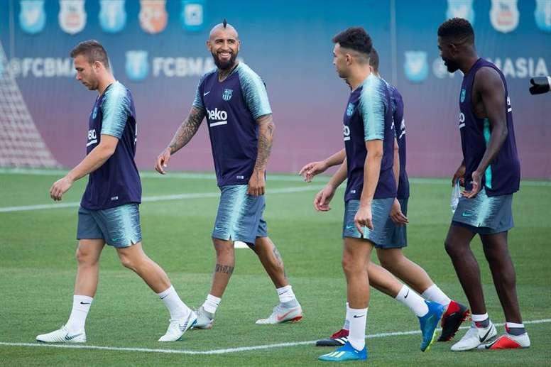 Beaucoup d'inconnues pour le premier match officiel du Barça. EFE