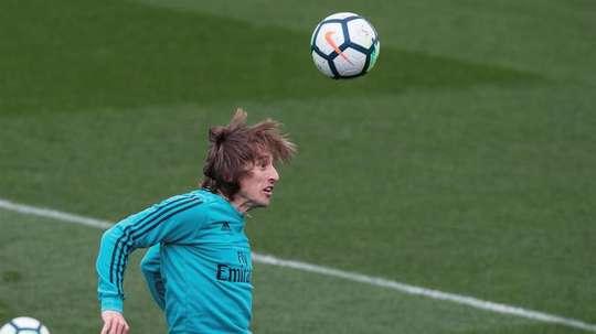 The Modric saga rumbles on. EFE