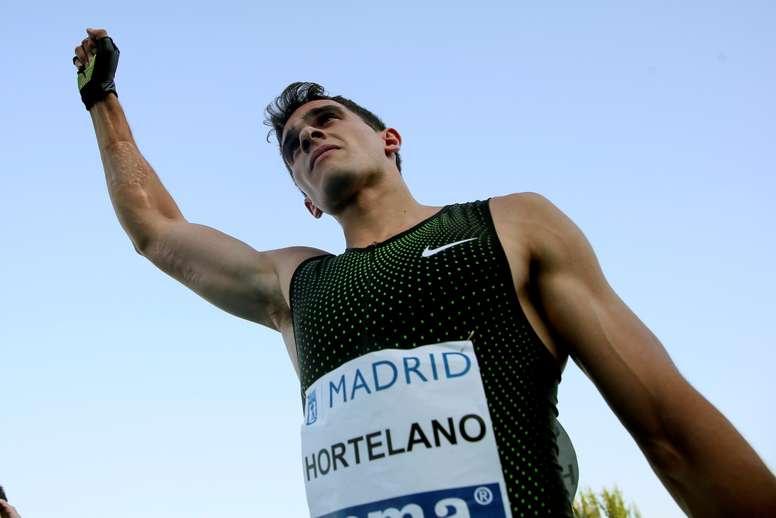 El atleta Bruno Hortelano. EFE/Archivo