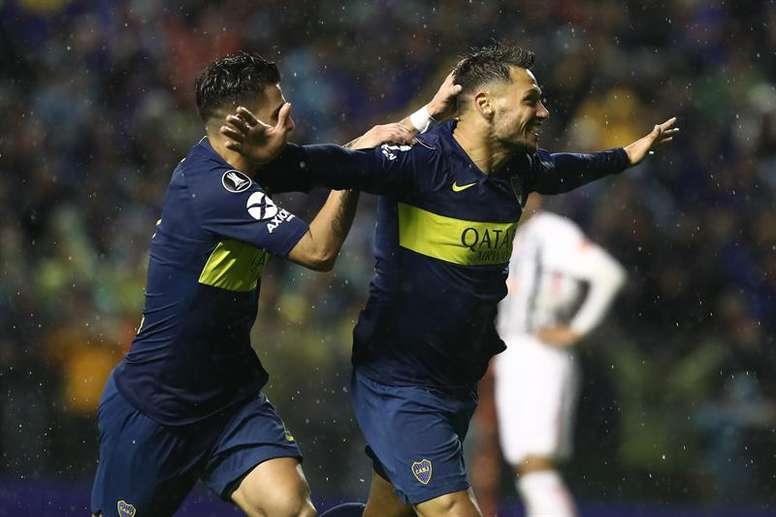 El delantero argentino anotó el segundo de los suyos. EFE
