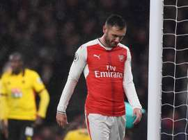 Lucas Perez's time at Arsenal was a rather forgettable one. EFE