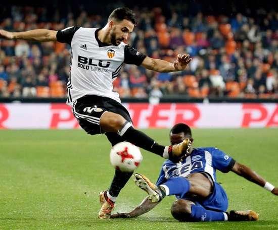 Montoya dejó el Valencia la pasada temporada. EFE/Archivo