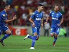 Cruzeiro logró vencer 0-2 en casa de Flamengo. EFE