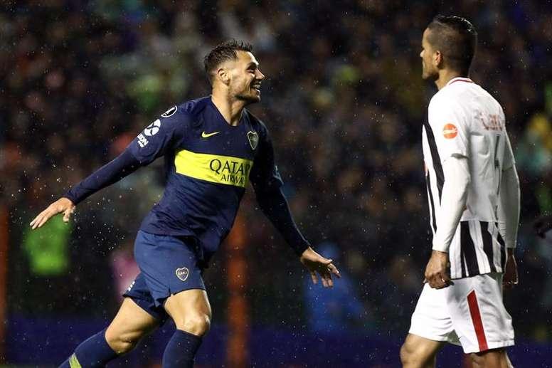 Mauro Zárate causará baja por lesión. EFE/Archivo