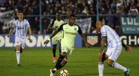 Reinaldo Lenis abandonaría Atlético Nacional en breve. EFE