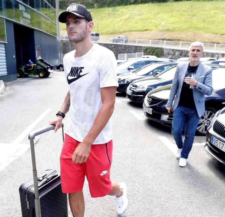 El Milan quiere a Theo. EFE