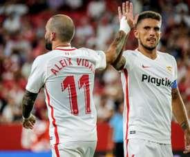 Aleix Vidal a reconnu admirer Zidane. EFE