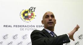 Luis Rubiales, head of the RFEF. EFE