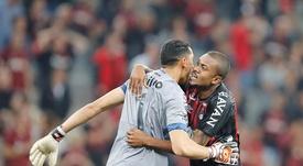 Atletico Paranaense x Fluminense 25ª Rodada Brasileirão. Twitter