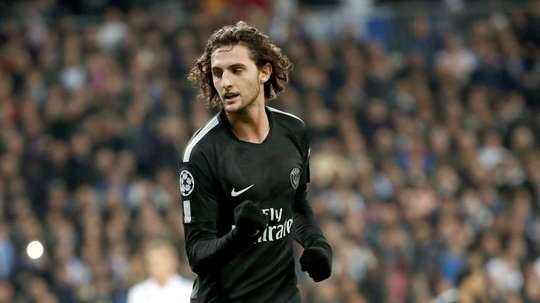Rabiot has turned down fresh terms at the Parc des Princes. EFE