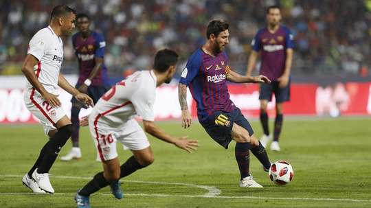 A draw will be done to determine who plays who in the Spanish Super Cup semis. EFE