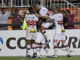 Sao Paulo manda en la clasificación. EFE