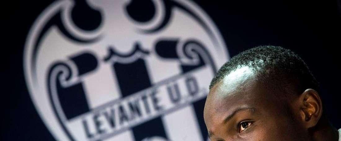 Dwamena a refusé des offres pour signer à Levante. EFE
