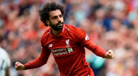 Salah is already off the mark. EFE