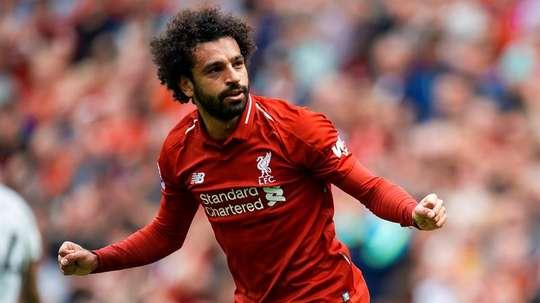 Mohamed Salah scored again at Anfield. EFE