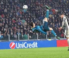 Le prix du but UEFA va être décerné. AFP