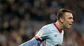 Aspas anotó su gol número 69 en Primera. EFE/ARchivo