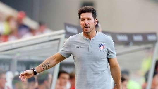 Atletico Madrid coach Diego Simeone. EFE