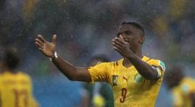 Le Camerounais a souhaité s'exprimer sur le Brésilien. EFE