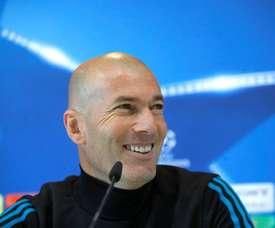 Zidane, perto de voltar. EFE/Archivo