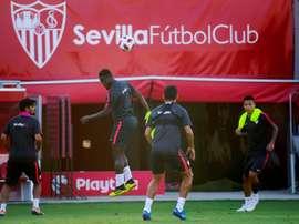 El Sevilla no puede permitirse fallar. EFE