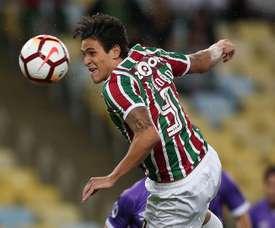 Fluminense estaria aberto a negociar Pedro. EFE