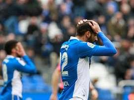 Borges cuenta los días para dejar el Deportivo. EFE