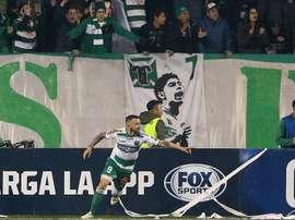 Temuco ganó los dos partidos de la eliminatoria, pero quedó eliminado. EFE