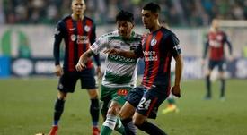 El partido entre Temuco y San Lorenzo sigue dando que hablar. EFE