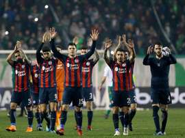 San Lorenzo luchó hasta el final y tuvo recompensa. EFE
