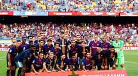 El Barça se llevó el Gamper ante Boca. EFE