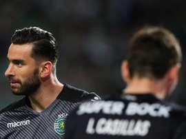 Rui Patricio estuvo en el Sporting de Portugal 12 temporadas. EFE
