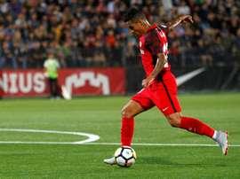 Sevilla goleou o FK Zalgiris por 5-0. EFE